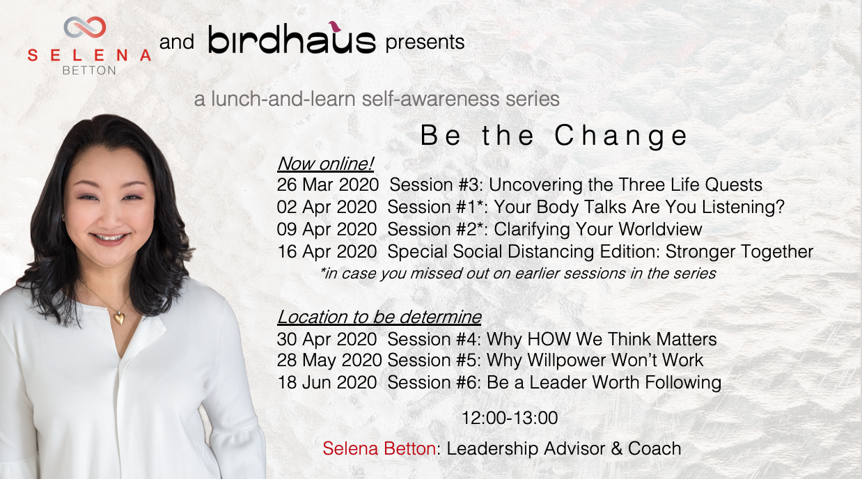 coworking.Be the Change Series - Now Online