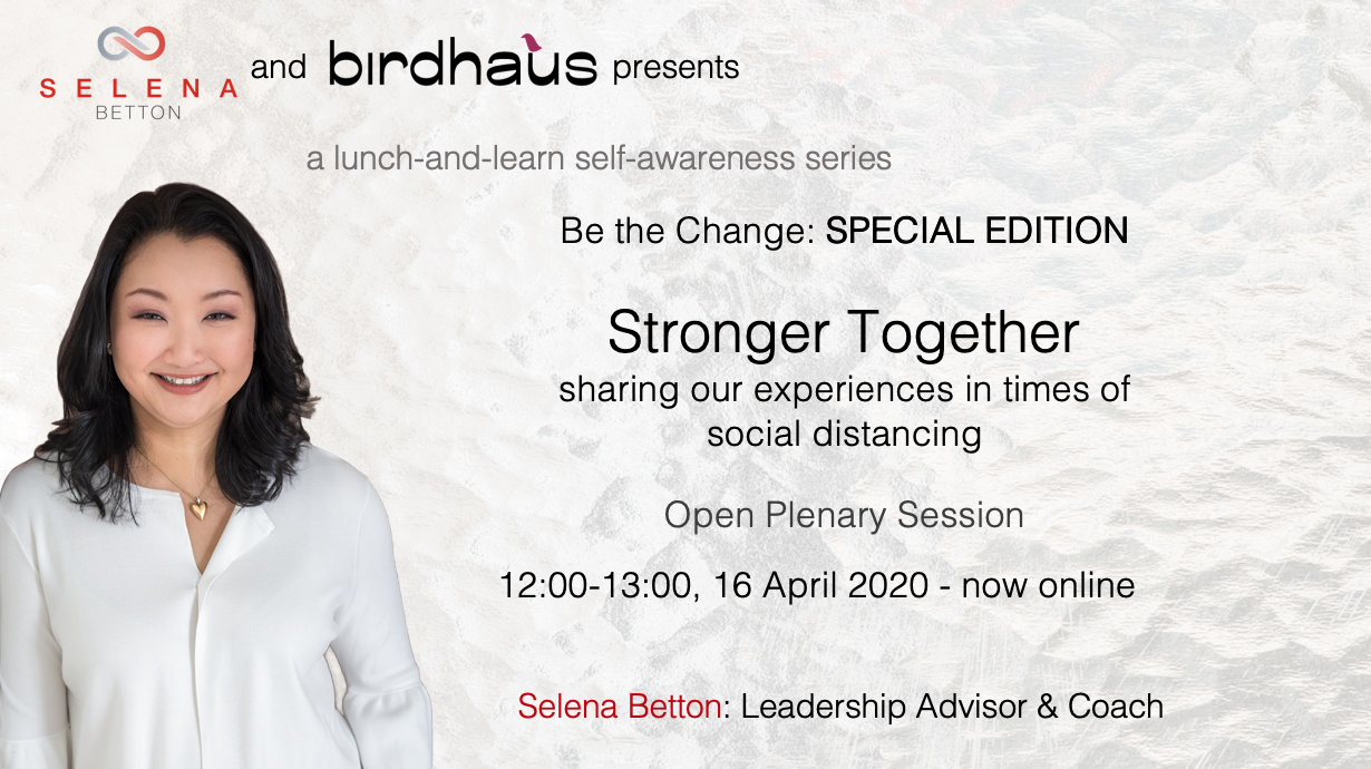 coworking.Special Edition - Stronger Together 16 April 2020